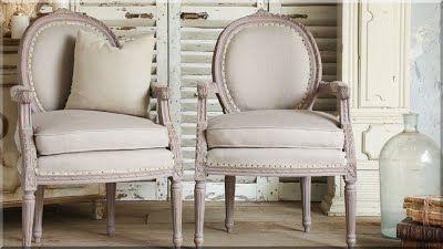 francia vidéki stílusú fotel
