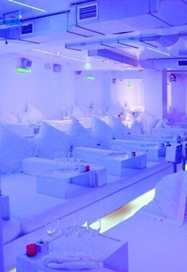 Restaurantes Originales en Madrid:  Cenar en una cama
