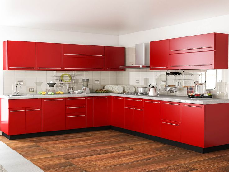 1000 Images About L Shaped Modular Kitchens On Pinterest