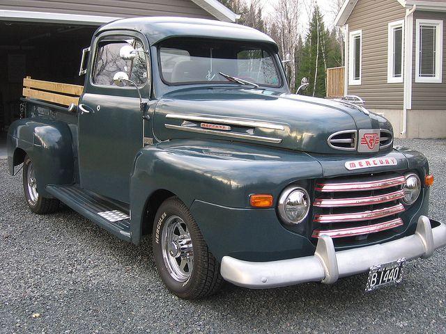Flickriver: Photoset 'Mercury Trucks' by carphoto