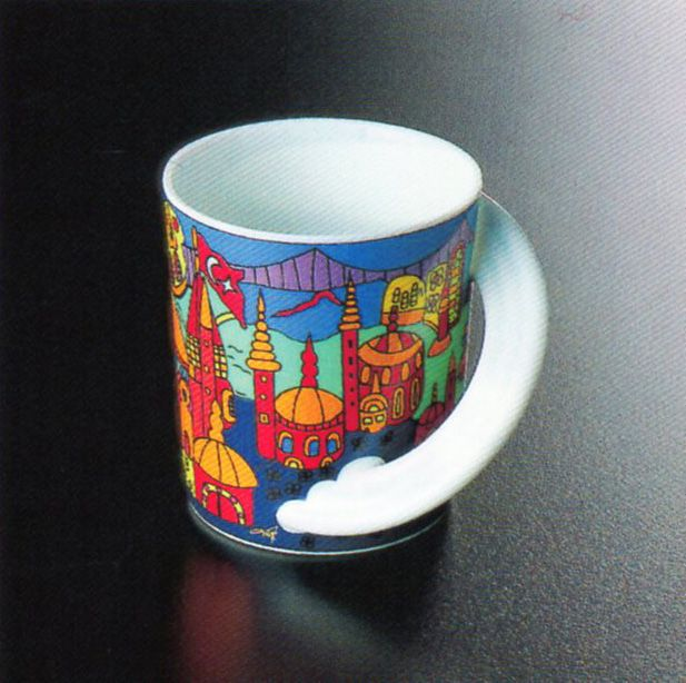 """Cupola"" İstanbul, Maarlen Vrolijk, Rosenthal (Erdinç Bakla archive)"