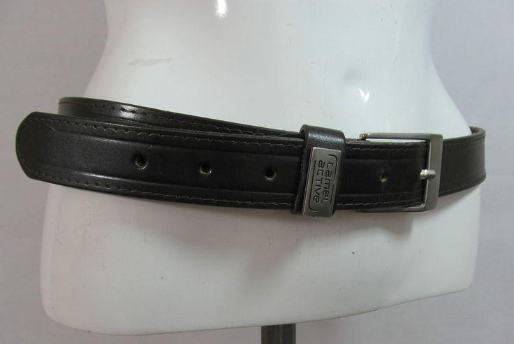 Vintage Camel Active brown leather belt fashion belt men's L/XL R15325 #style #fashion #love #woman #chic #eBay #BELT #sangriasuzie