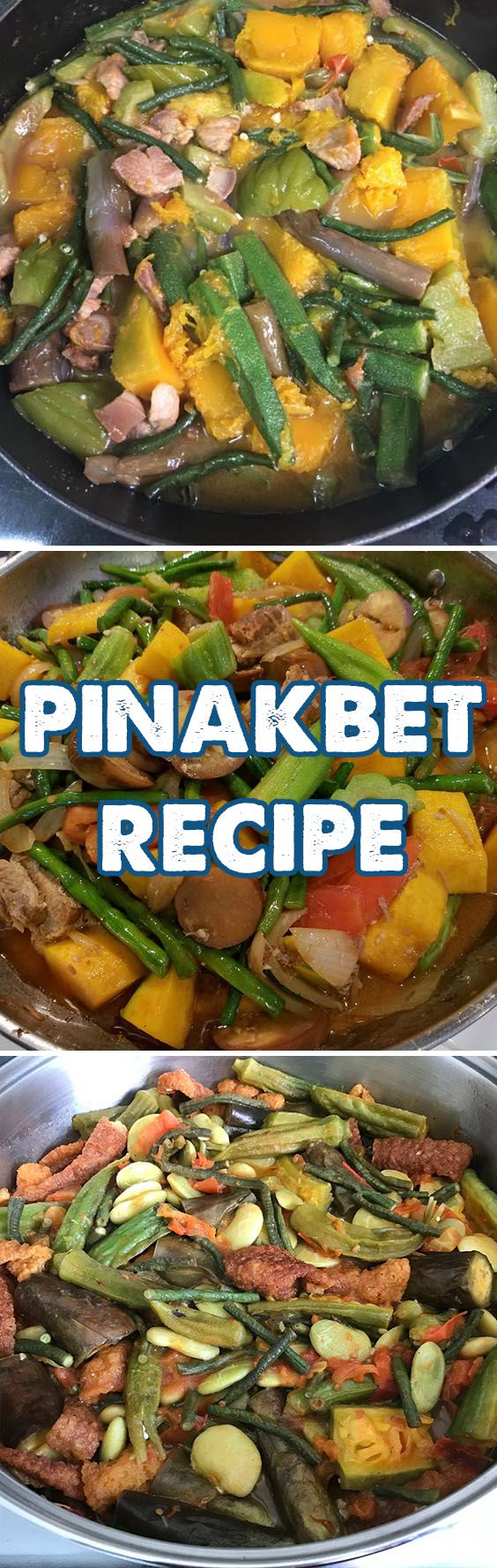 Pinakbet is a combination of different vegetables, fish paste, and grilled milkfish or Pork; this is the Ilocano Version. In other regions and most common in the Philippines, they have been using Shrimp Paste or Bagoong Alamang and Pork or sometimes Chicharon instead but nevertheless, it is still delicious.