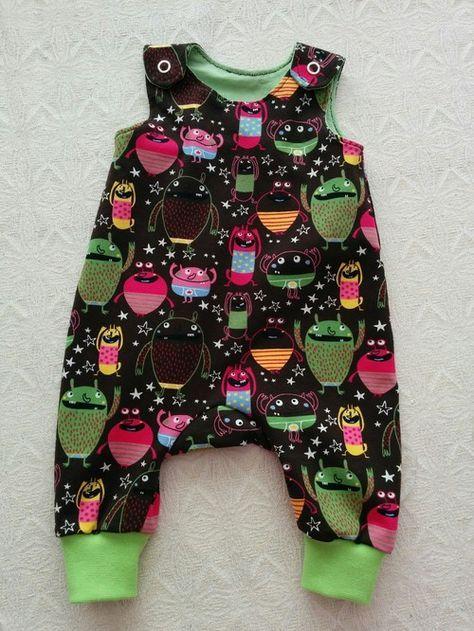 Sara kan själv - sy byxor, hängselbyxor till baby. Gratis mönster