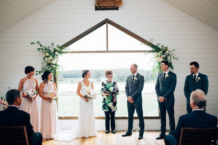 Nichole & Matt Brown's Daylesford Wedding at Sault Restaurant