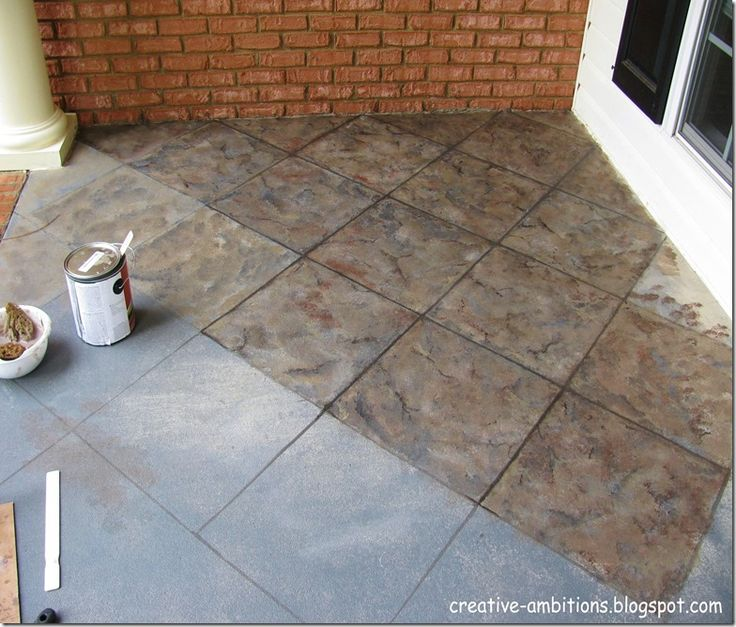17 best images about diy concrete flooring ideas on for Concrete floor ideas diy