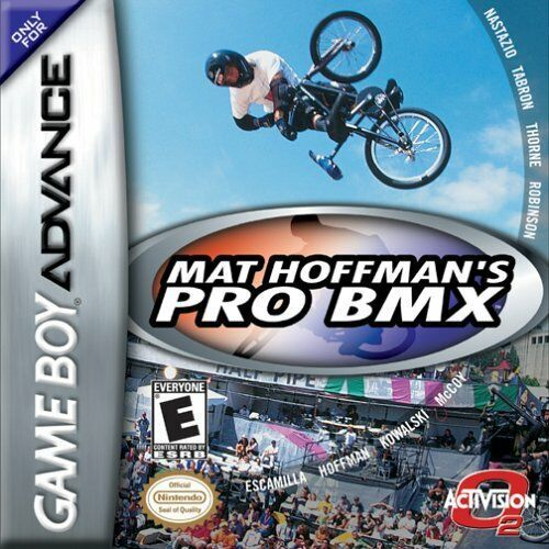 Mat Hoffman's Pro BMX - Game Boy Advance Game