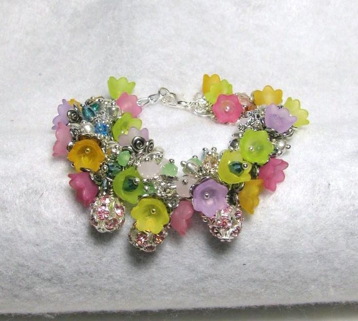 Secrets of My Garden - Jewelry creation by Linda Foust