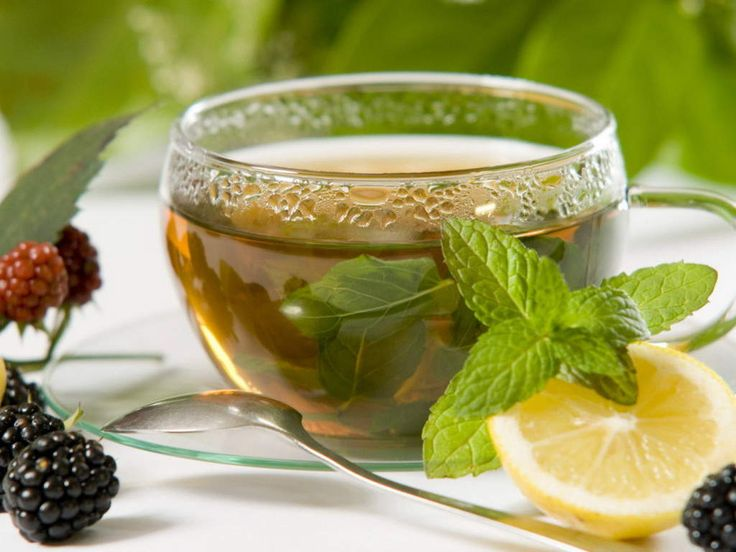 Thyme, lemon, orange, honey tea
