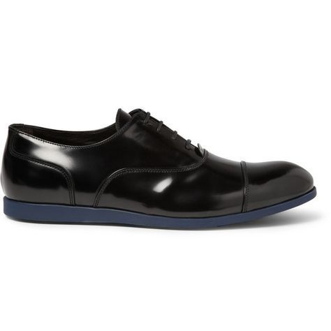 Fancy - Rubber-Sole Leather Oxford Shoes by Armando Cabral