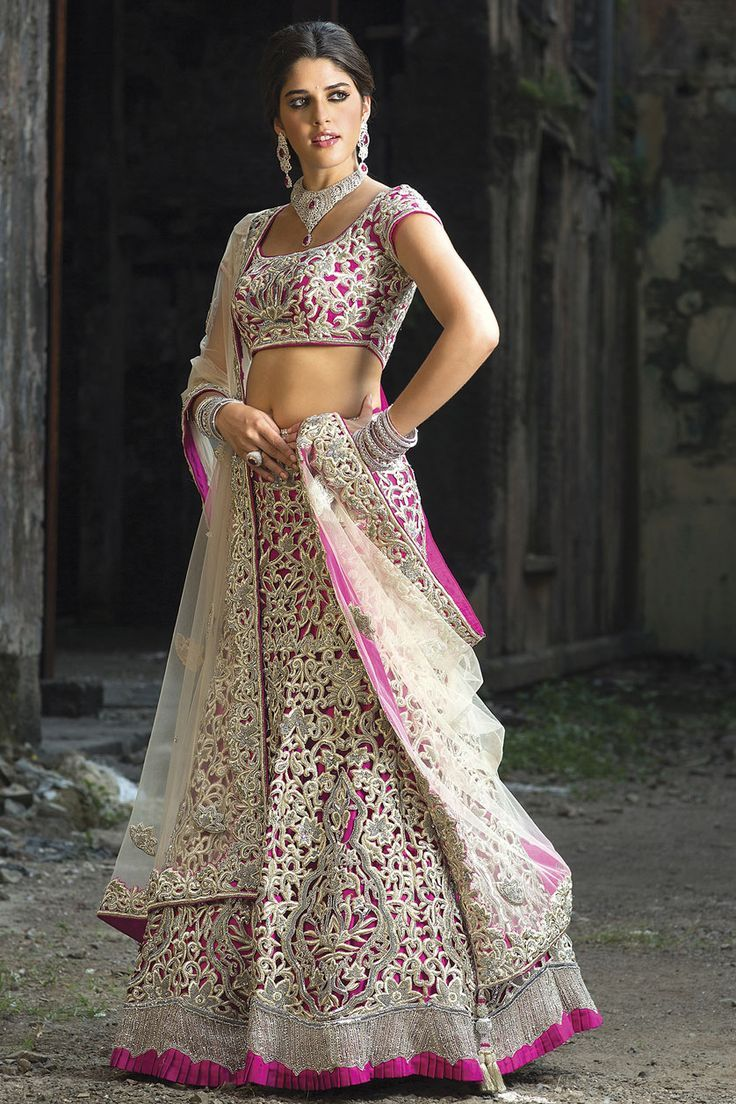 Indian ghagra choli designs 2016 collection pictures with for Design wedding dress online