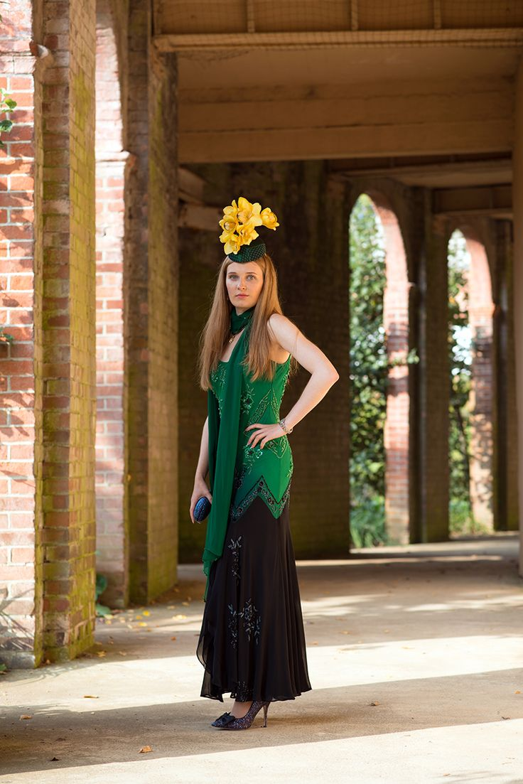 Orchids Headpiece - designed by Agata Tanistra