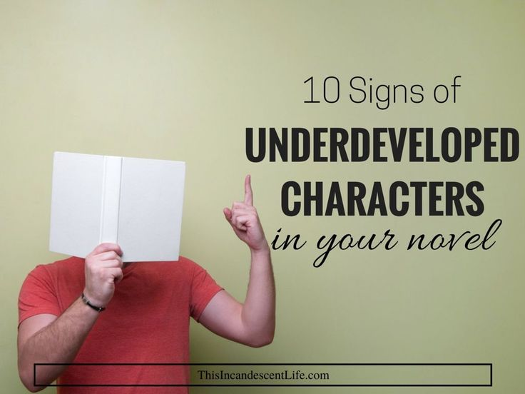 underdeveloped characters-update