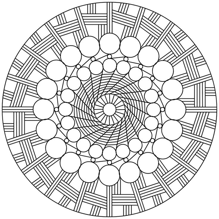 50 best Mandala Coloring images on Pinterest  Draw Mandalas and