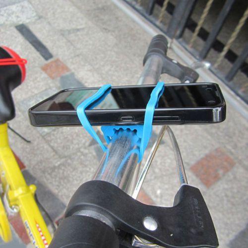 Neue-Generation-Fahrrad-Radfahren-Silikon-Band-Flasche-Handy-Halterung-NBDE