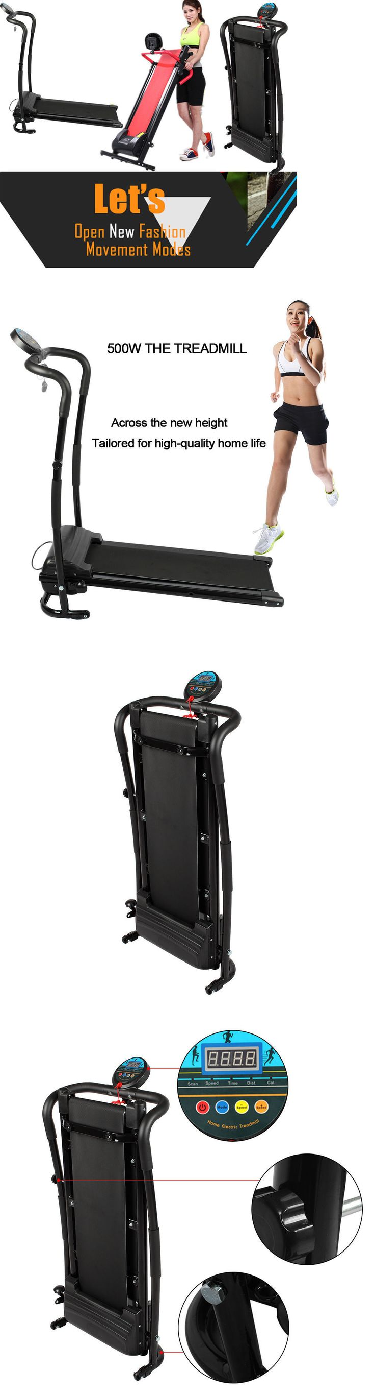 Other Fitness Equipment and Gear 28065: Electric Manual Motorized Treadmill Machine Folding Portable Running Gym Fitness -> BUY IT NOW ONLY: $128.95 on eBay!