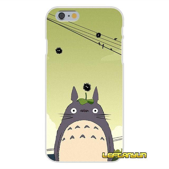 My Neighbor Totoro Studio Ghibli Soft Transparent Bag Case For ...