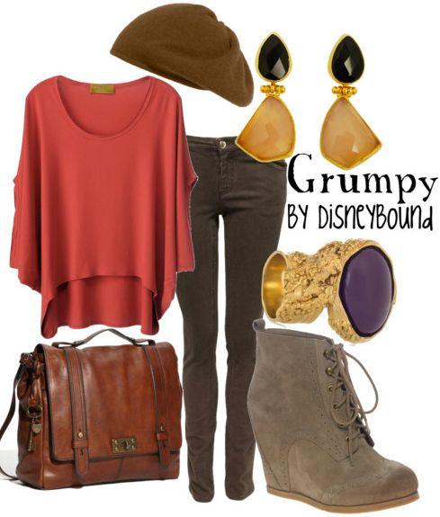 Disney Bound - Grumpy. Who knew being Grumpy,was so cute? :)