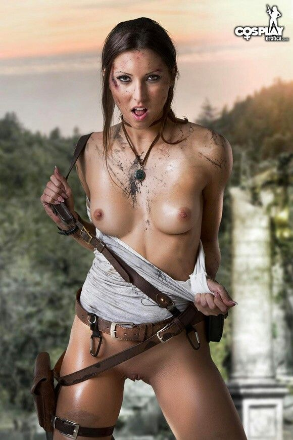 Lara croft nude pic