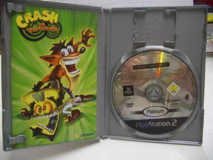 Crash bandicoot twinsanity ps2