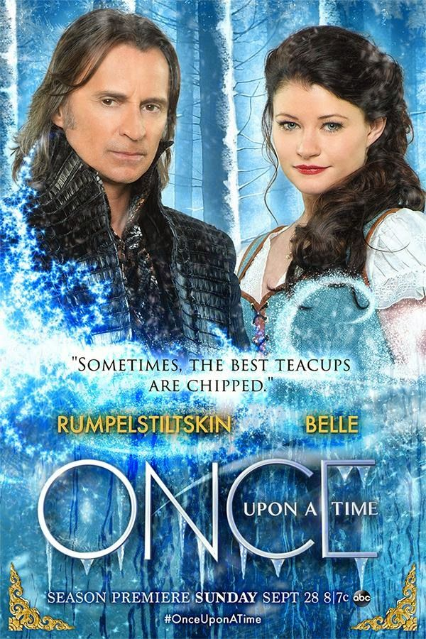 Spoiler TV: Once Upon a Time - Season 4 - Rumbelle - Promotional Poster