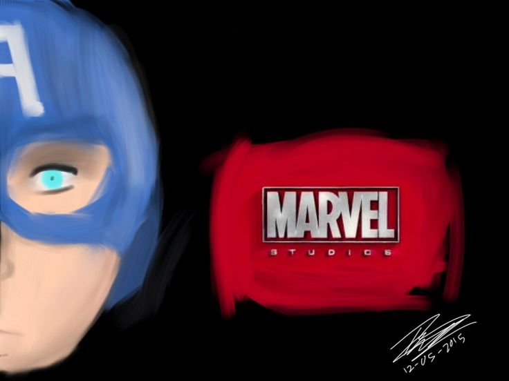 Captain America - Art by BeckytheAwesome-