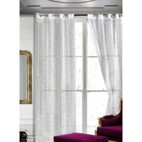 Visillo confeccionado 5098. Viste tu salon con el visillo confeccionado 5098 devoré fino dibujo con detallitos. Es un tejido claro, fino y semitransparente que hará las delicias de los amantes de la luz y los ambientes naturales. Su composición en 60% poliéster y 40% algodoón hacen de esta prenda un artículo de la máxima calidad, suave y fino al tacto. Válido tanto para la sala como para el dormitorio para crear ambientes luminosos y frescos.