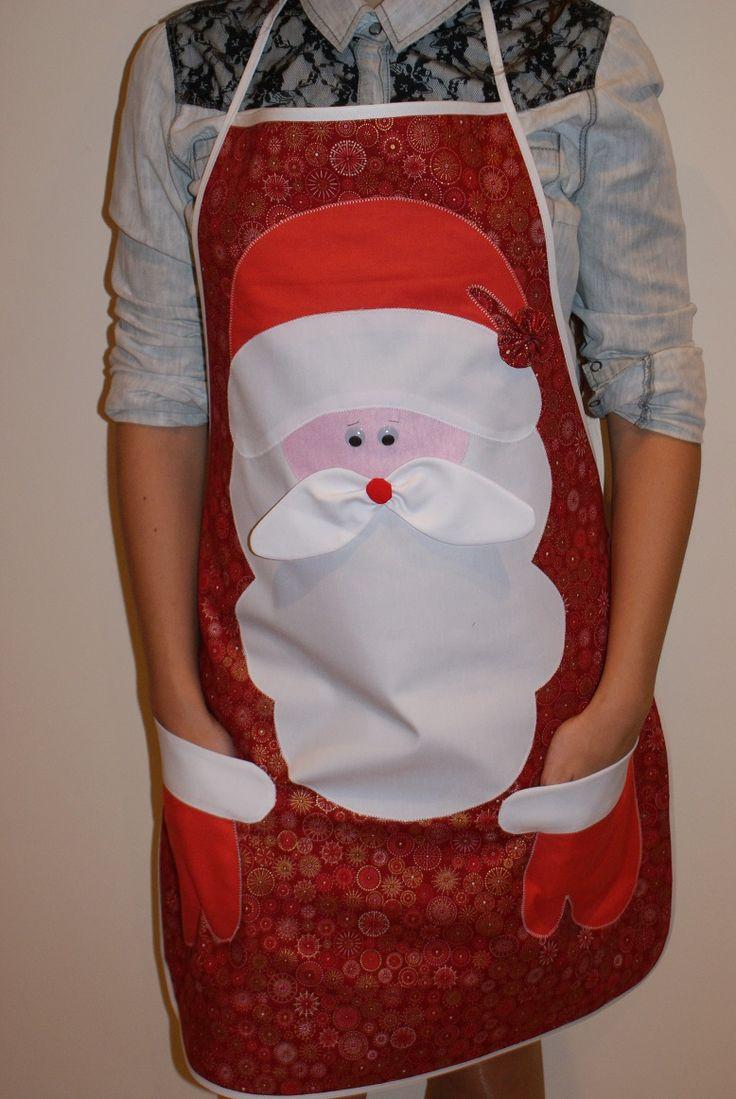Resultado de imagen para delantales de cocina navideño