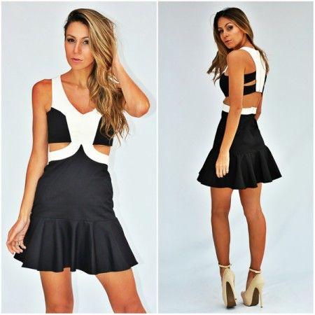vestido-para-balada-preto-e-branco