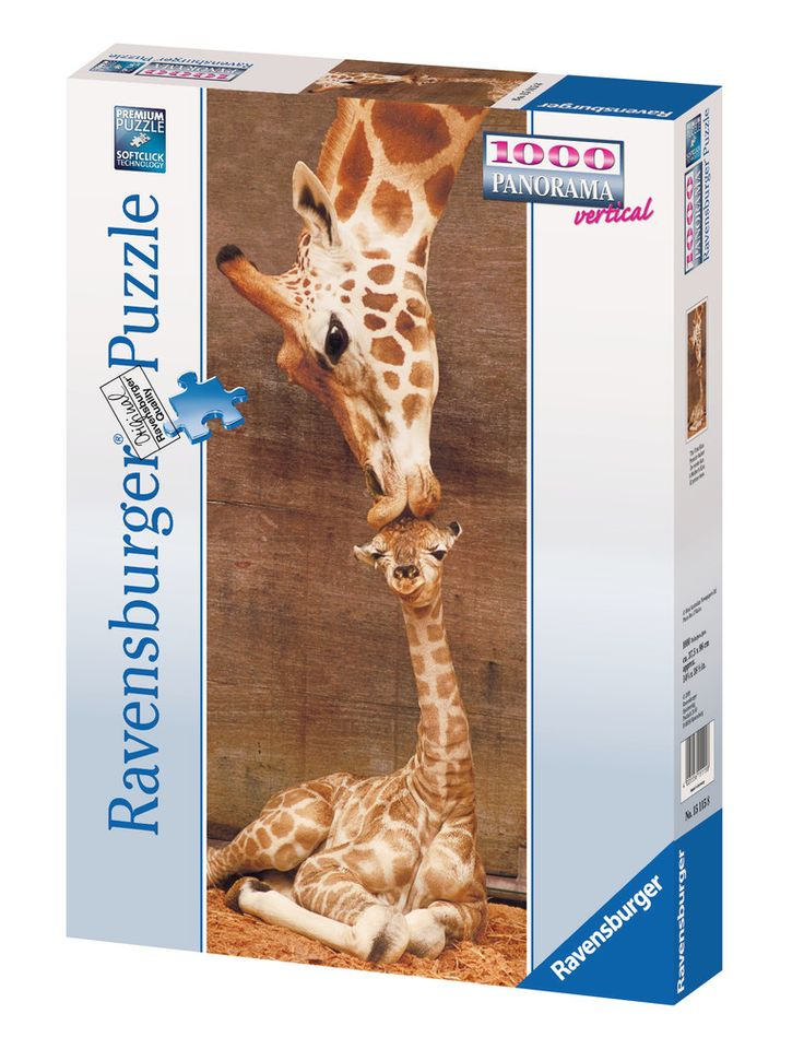 Panorama: Il primo bacio - Giraffe | Puzzle da Adulti | Puzzle | Prodotti | IT…