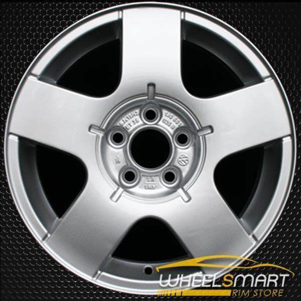 15 volkswagen vw jetta oem wheel 1999 2011 silver alloy stock rim 69735 acurarims acurawheels in 2020 oem wheels vw jetta wheels for sale pinterest