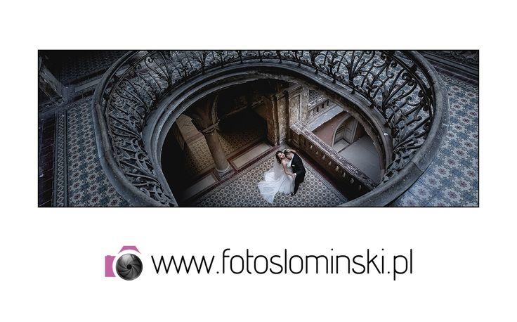 #Najnowsze - Film #ślubny  #ZdjęciaSłomińskiego - #Ślub Bielawa Hotel #Dębowy - Sesja #Pałac #Krowiarki. Justyna i Błażej.