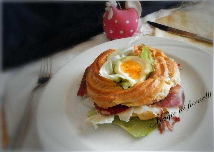 Paris brest versione salata