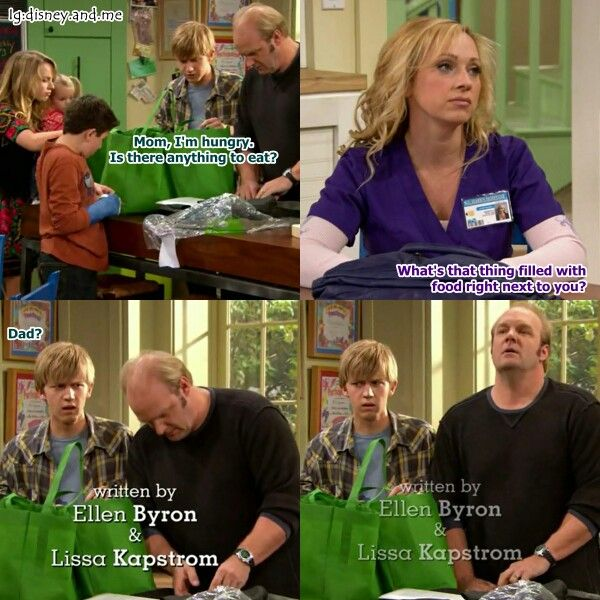 Disney Channel Good Luck Charlie. Teddy Duncan, PJ Duncan, Gabe Duncan, Amy Duncan and Bob Duncan. Wait is it fridge or Amy actually meant Bob? Leigh Allyn Baker, Eric Allan Kramer, and Jason Dolley.