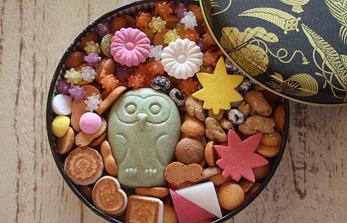 自分用の贈り物にしたくなくなるお菓子、菊廼舎の「冨貴寄の秋色缶」 - ippin(イッピン)