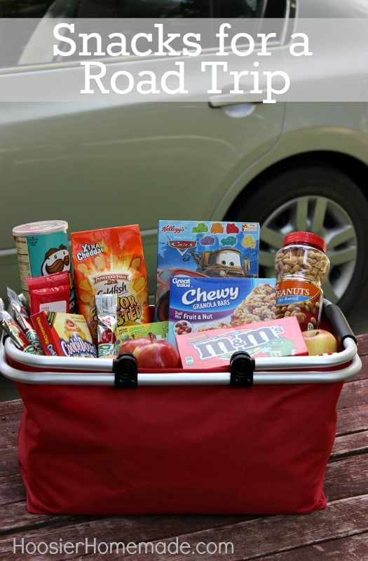 Mom! I'm hungry! How many times do we hear that during a Road Trip? These easy to make Road Trip Snacks will fix that problem! AND they are much better than fast food!