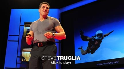Steve Truglia: A leap from the edge of space | Video on TED.com