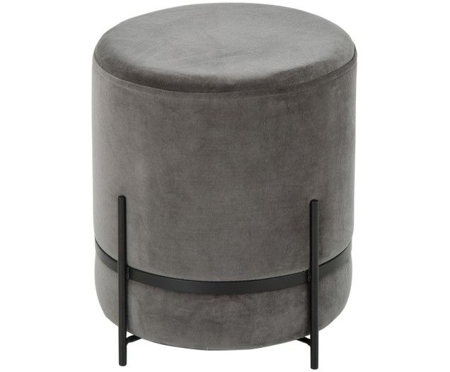 Samt Hocker Haven Furniture Ottoman Chair