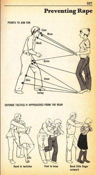 Self defense!