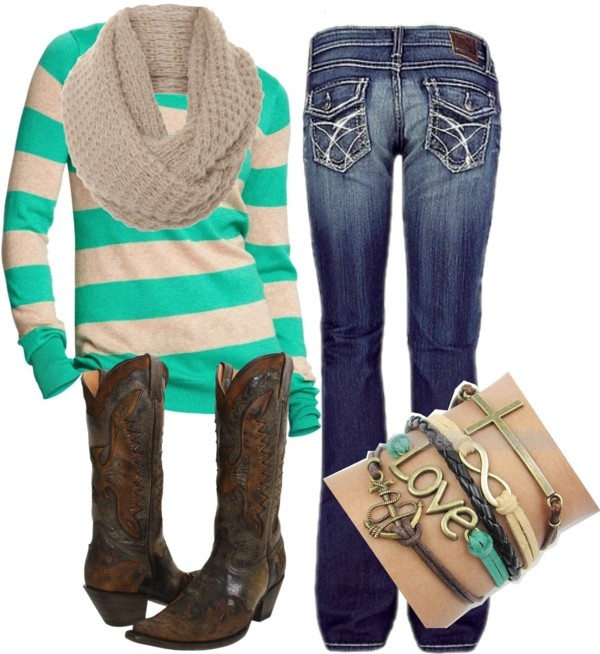127 Best My Polyvore Outfits Images On Pinterest Country