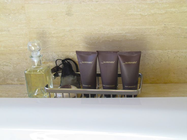 Bathroom amenities at D-Hotel Maris have been specially created for you by Laura Tonatto.