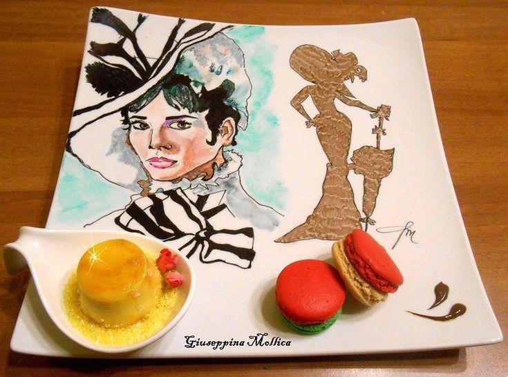 Impiattiamo l'Arte: Macarons con Crema e Creme Caramel   VIDEO
