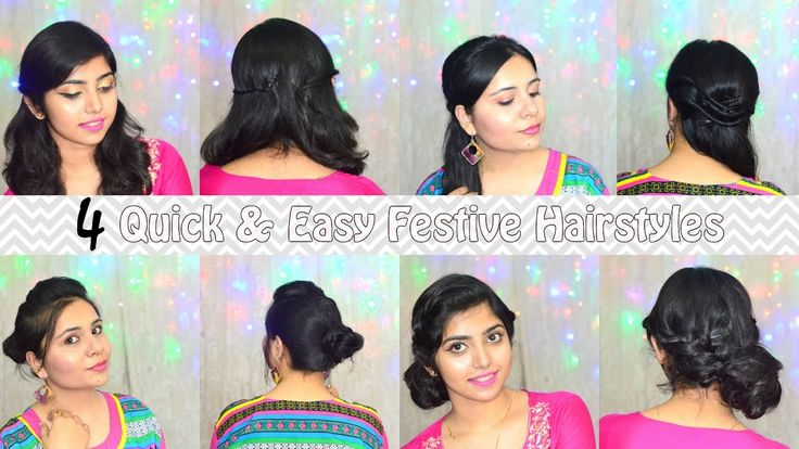 4 Quick & Easy Festive Hairstyles + Giveaway