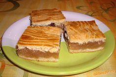 křehký jablkový koláč