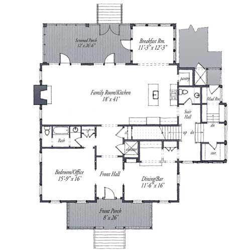 2013 Showhouse 1st Floor Plan