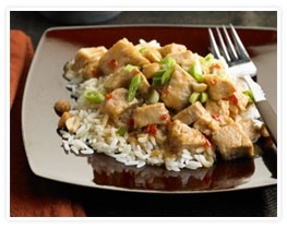 Slow Cooked Thai Pork with Peanut Sauce | Pork | Pinterest