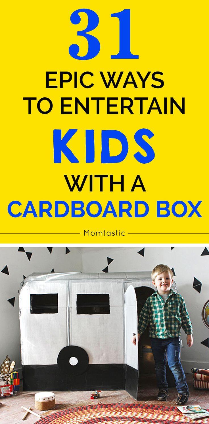 Epic cardboard box ideas for kids