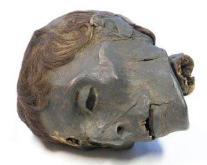 Mummies and mummy hair from ancient Egypt.   Mathilda's Anthropology Blog.