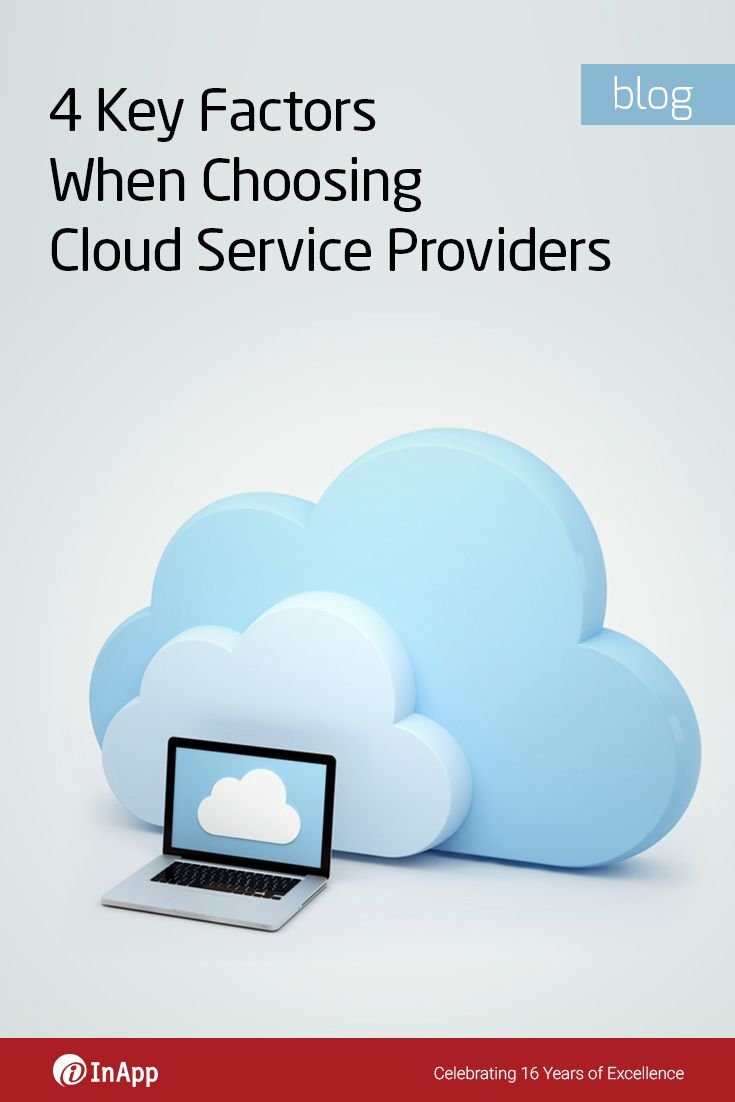 With an increasing number of companies offering cloud computing solutions, choosing a cloud service provider can be a daunting task. To help you overcome this challenge, here is a set of key points to be considered when choosing a cloud provider: http://cloud.inapp.com/choosing-cloud-service-providers/?utm_source=utm_social_media&utm_medium=utm_pinterest