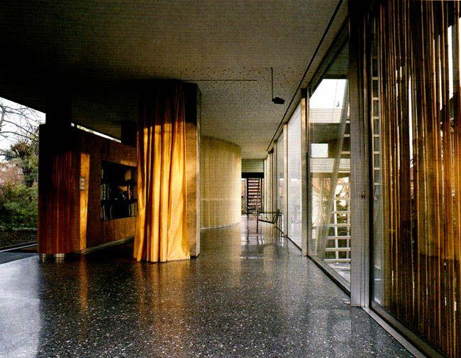 Rem Koolhaas Villa Dell Ava Paris 11 Curtains